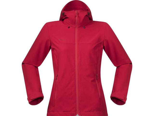Bergans Ramberg Softshell Jacket Damen strawberry/red